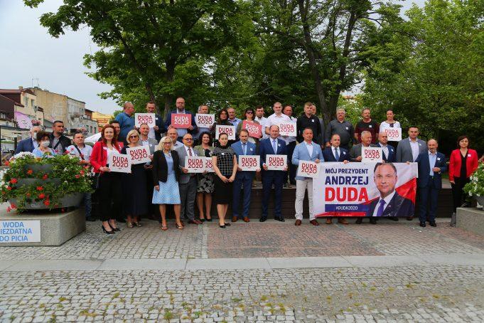 Wiec poparcia Prezydenta Andrzeja Dudy